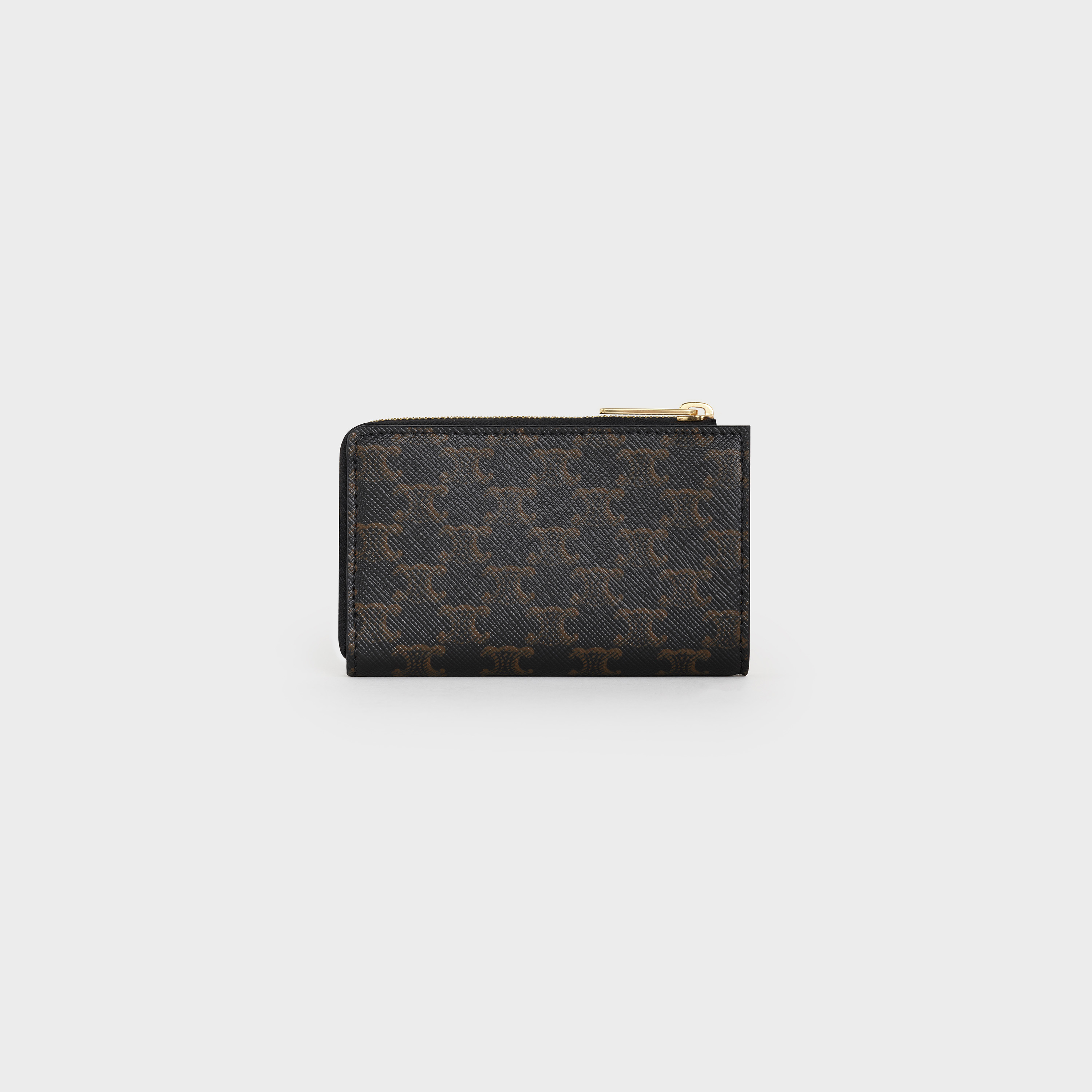 Black and Gold Purse with coin purse