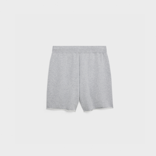 TRIOMPHE棉质山羊绒混纺短裤展示图