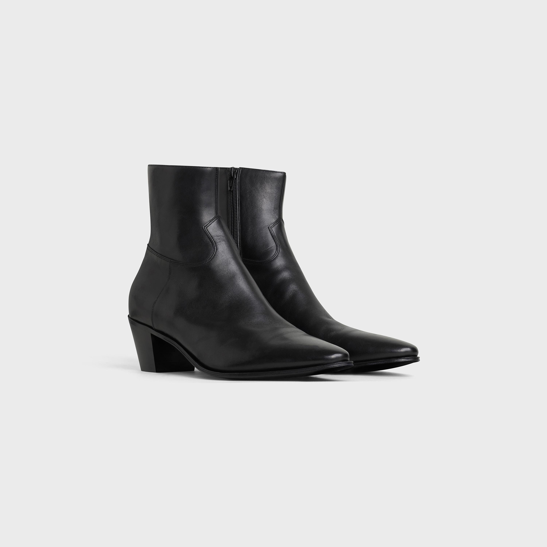 Celine Jacno Boot in Shiny Calfskin